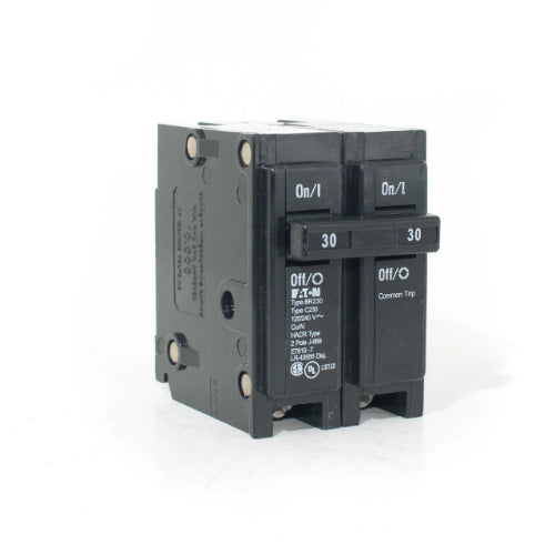 Cutler Hammer BR230 - Double Pole Interchangeable Circuit Breaker, 120/240V, 30-Amp (Eaton Corporation) Image