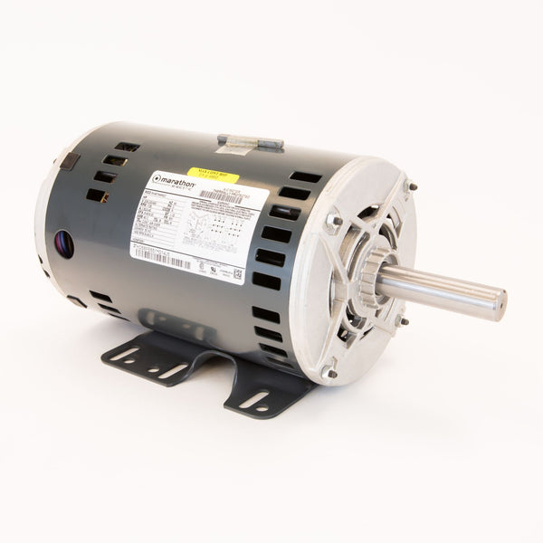 Carrier HD58FE651 Belt Driven Blower Motor 2.9 HP 208-230/460V 3 Ph 7.5/3.4 Amp 1725 RPM 56Y