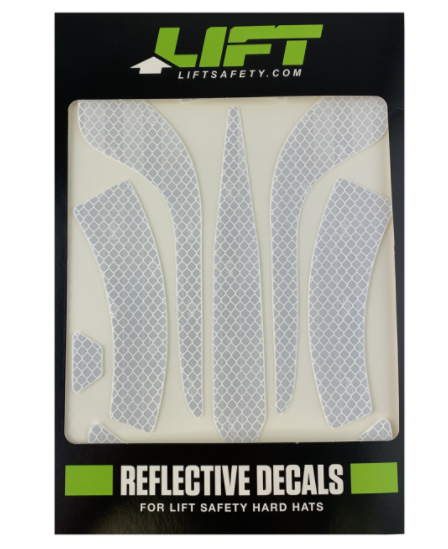 LIFT HDRD-20WH DAX REFLECTIVE DECALS - WHITE