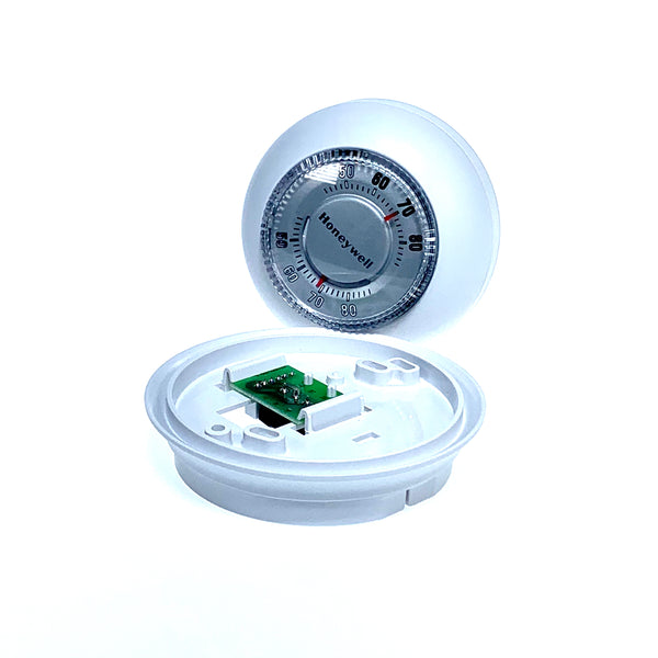 Honeywell T87K1007 - T87K Round Non-Programmable, Mechanical Thermostat Image