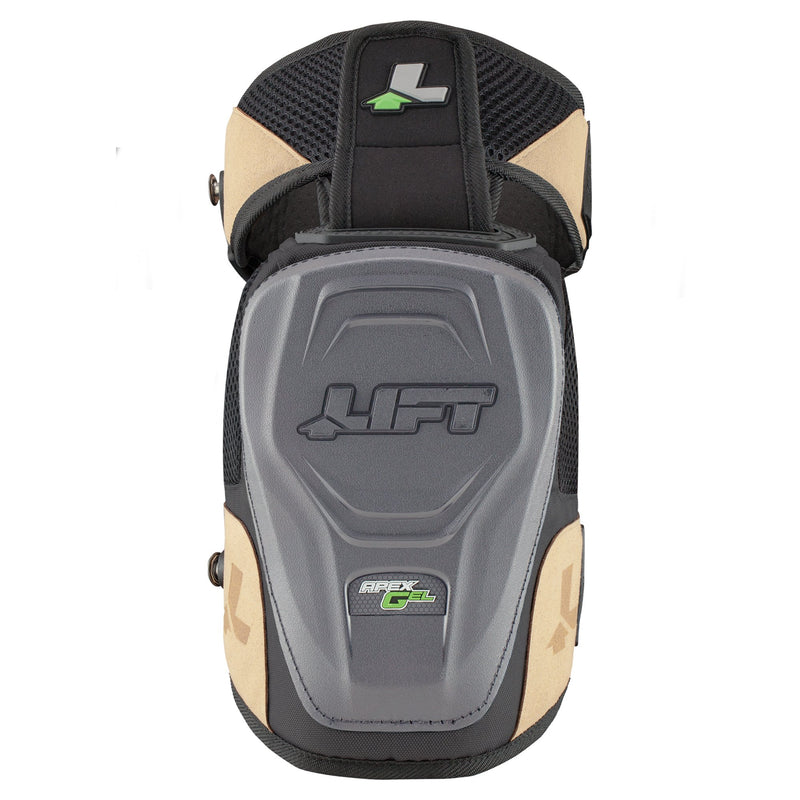 Lift Safety KAN-15K APEX GEL KNEE GUARD - NON MARRING