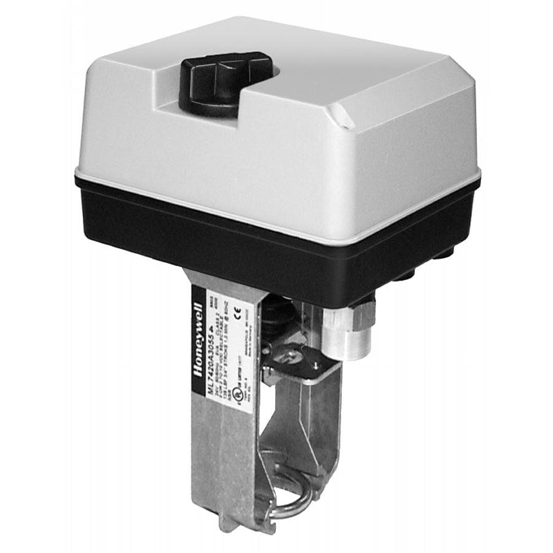 "Honeywell ML7420A3055 - Non-Spring Return Valve Actuator, 24v, 3/4"" Stroke 0-10vdc 60 Sec"