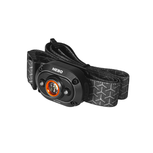 NEBO NEB-HLP-0011 MYCRO RC RECHARGEABLE HEADLAMP AND CAP LIGHT WITH 400 LUMEN TURBO MODE