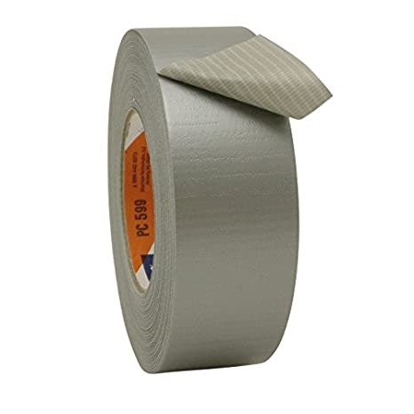 Shurtape PC-599-2-60-SILVER PC-599 ShurGRIP Heavy Duty Duct Tape [High Adhesion]