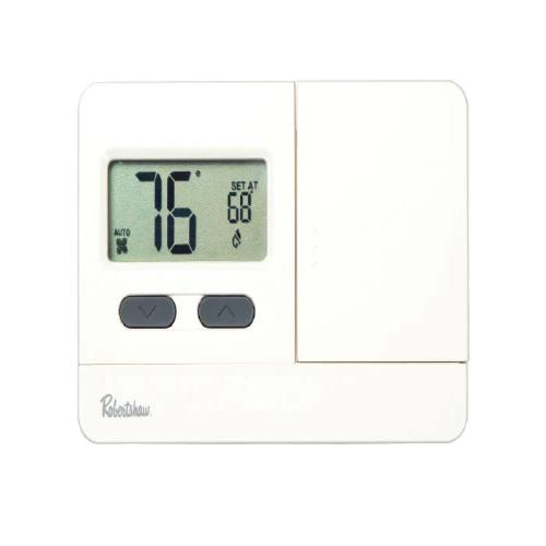 Robertshaw RS2110 - 1H/1C Digital Non-Programmable Thermostat Image