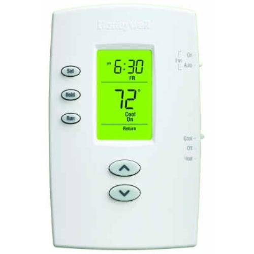 Honeywell TH2110DV1008 - PRO 2000 Programmable Vertical Thermostat 1H/1C Image