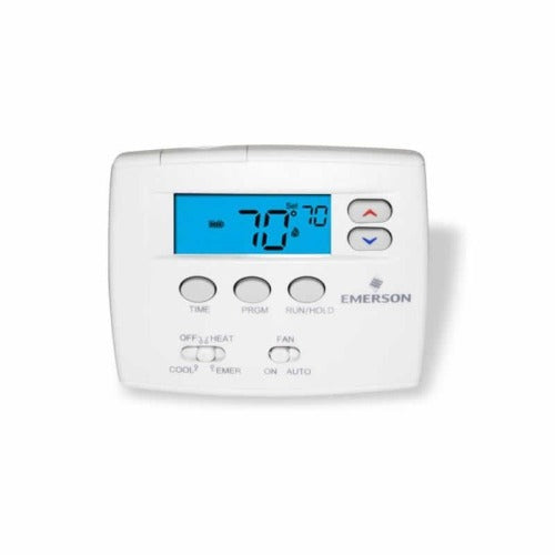 "White Rodgers 1F80-0224 - Blue 2"" Programmable Thermostat"