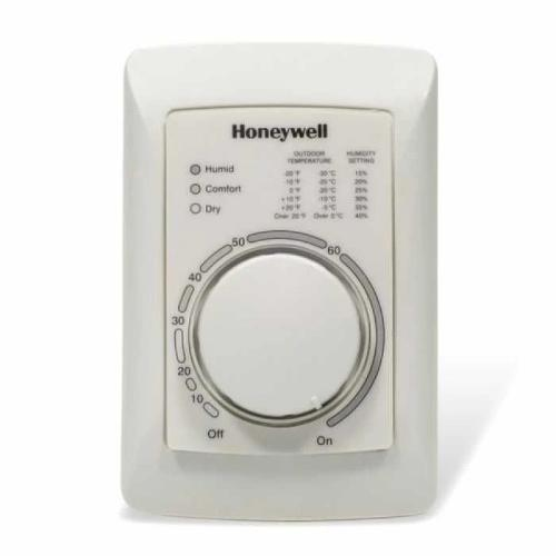 Honeywell H8908ASPST - Low-Voltage Manual Humidistat/Dehumidistat (H8908ASPST/U) Image