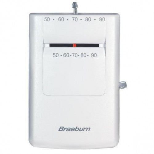 Braeburn 505 - Mechanical Megaswitch Heat Only Thermostat