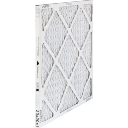 "Lennox 98N42 - Healthy Climate 98N42 16"" x 25"" x 1"" Pleated Air Filter, MERV 8, 1389 CFM, 4-Pack Image"