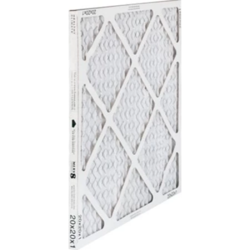 "Lennox 98N44 - Healthy Climate 98N44 20"" x 25"" x 1"" Pleated Air Filter, MERV 8, 1737 CFM, 4-Pack Image"