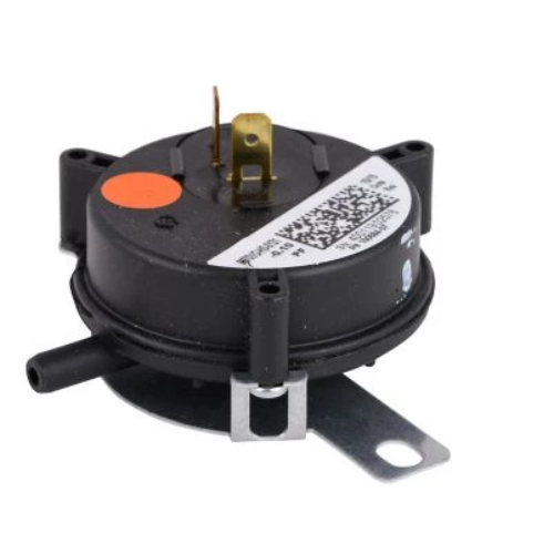 "Lennox 65W63 - Microtechnologies 100684-07 Pressure Switch Orange (0.1"" WC), SPST N.O. Image"