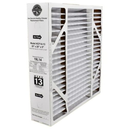 "Lennox 19L14 - Healthy Climate Replacement Box Filter, MERV 13, 20"" x 20"" x 5"" (HCF14-13)"