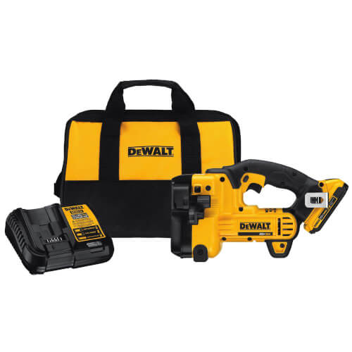 Dewalt DCS350D1 - 20V MAX Lithium-Ion Cordless Threaded Rod Cutter with Battery 2Ah, Charger and Contractor Bag