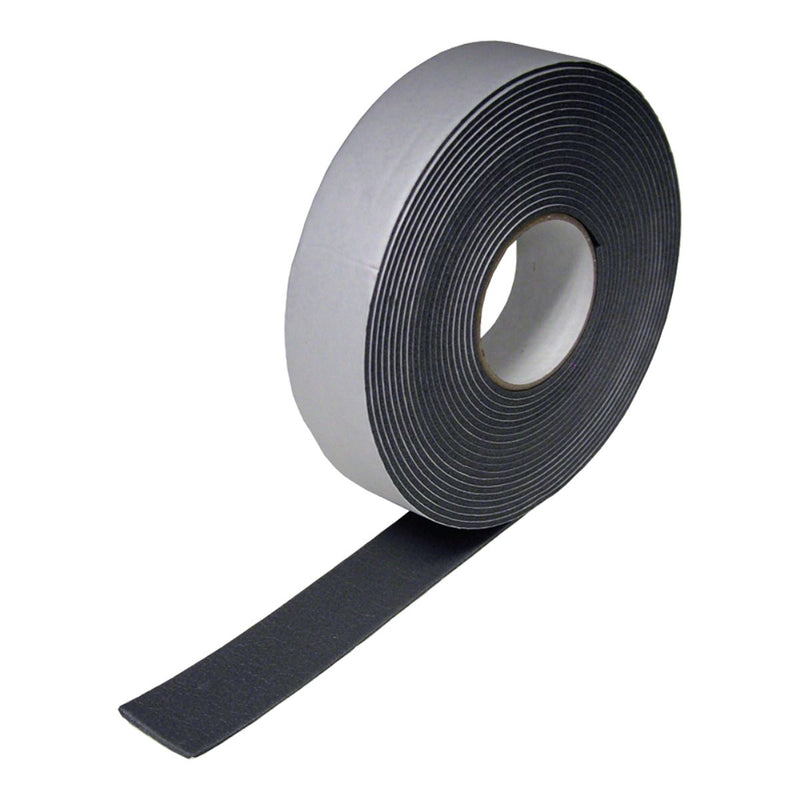 "DiversiTech - 6-9718 Foam Insulation Tape 1/8"" x 2"" x 30' Roll - Black"