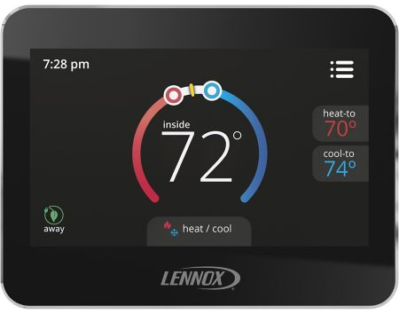 Lennox 13H14 - CS7500 Comfortsense 7500, Universal Programmable Thermostat, 7-Day, 4 Heat/2 Cool Image