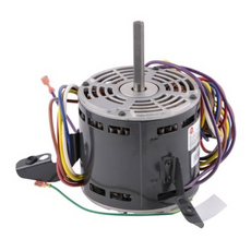 Lennox 60L22 - US Motors K055HGB8639011J Fan Motor, 1/2HP, 5 Speed, 115 Volts, 60 Hz, 1075 RPM, 8.0-8.6 Amps