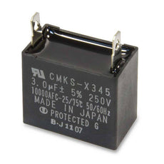 Carrier 250V Rectangular Capacitor, 3 MFD. Part#HC91PD001