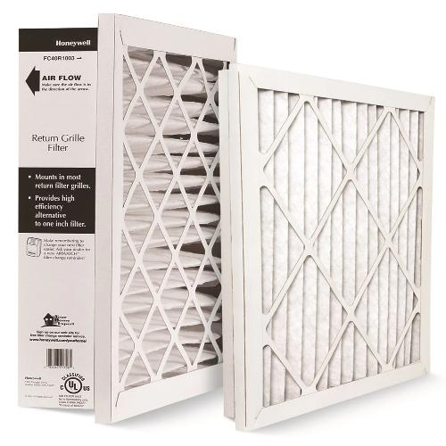 "Honeywell FC40R1003 - 20"" x 20"" x 4"" High Performance Return Grille Filter Merv 10 Image"