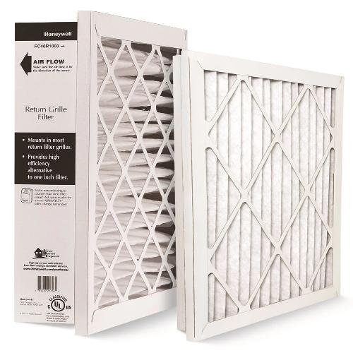 "Honeywell FC40R1011 - 20"" x 25"" x 4"" High Performance Return Grille Filter Merv 10 Image"
