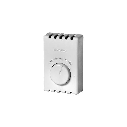 Honeywell T410A1013 - Electric Heat Thermostat, Pr. White-Baseboard (T410A1013/U) Image