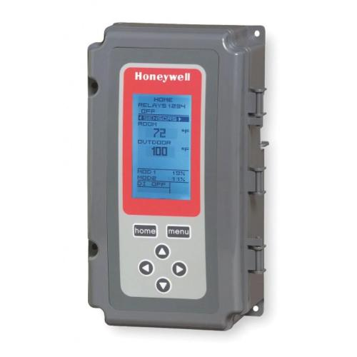 Honeywell T775B2032 - Electronic remote temperature controller, 1 sensor included, 1 floating output, 2 sensor inputs Image