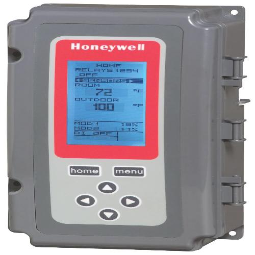 Honeywell T775M2006 - Electronic Temperature Controller, Modulating, no relay output, 1 sensor included, 2 sensor inputs Image