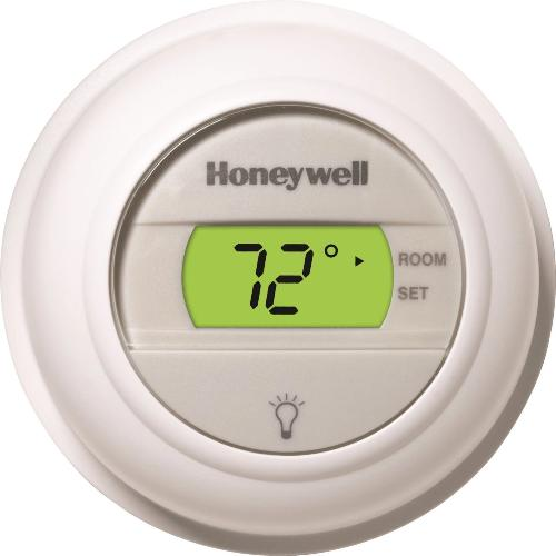 Honeywell T8775A1009 - Round digital thermostat, low-volt Image