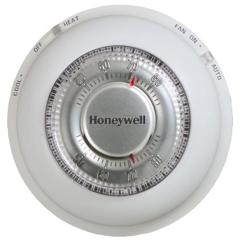 Honeywell T87N1026 - Manual Round wired thermostat Image