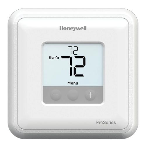 Honeywell TH1010D2000 - T1 Pro Non-Programmable Thermostat For 24 VAC Systems, 1 Heat/1 Cool, Single Stage (TH1010D2000/U) Image