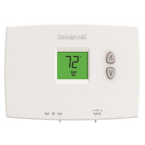 Honeywell TH1110DH1003 - PRO 1000 Horizontal Non-Programmable Thermostat 1H/1C Image