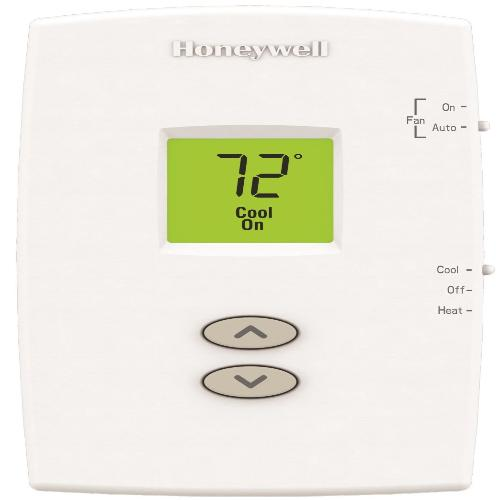 Honeywell TH1110DV1009 - PRO 1000 Non-Programmable Vertical Thermostat 1 Heat/1 Cool Image