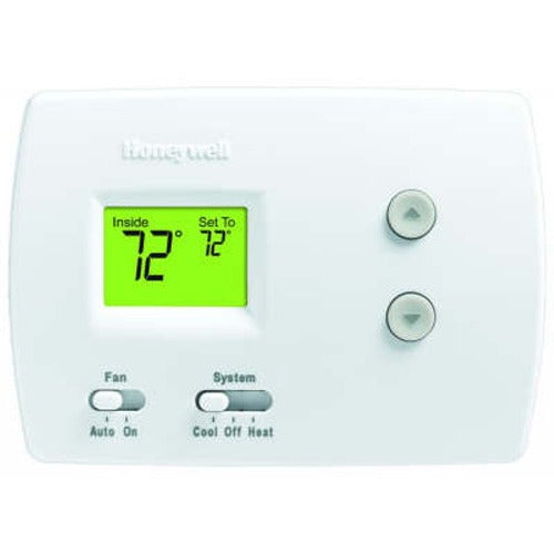 Honeywell TH3110D1008 - PRO 3000 Non-Programmable Digital Thermostat 1H/1C for Conventional and Heat Pump