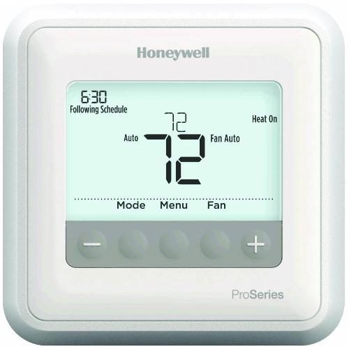 Honeywell TH4210U2002 - T4 Pro Programmable Thermostat 2H/1C Image