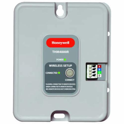 Honeywell THM4000R1000 - Wireless Adapter for adding RedLINK thermostat to TrueZONE system Image