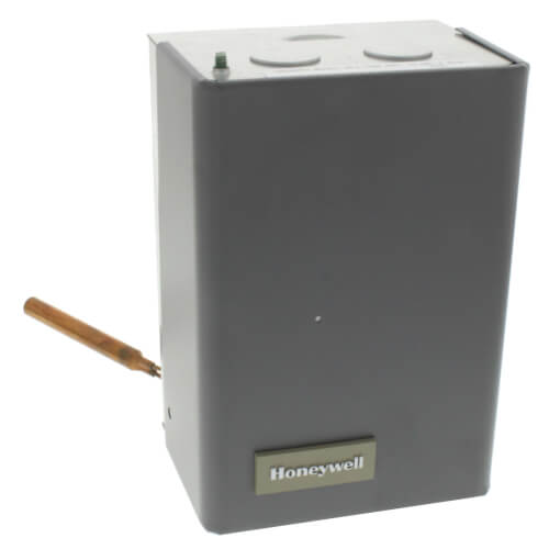 Honeywell L8124A1007 - High Limit Protection, Low Limit & Circulator Triple Aquastat Relay, High = 10°F, Low Limit = 10-25° Adj Differential