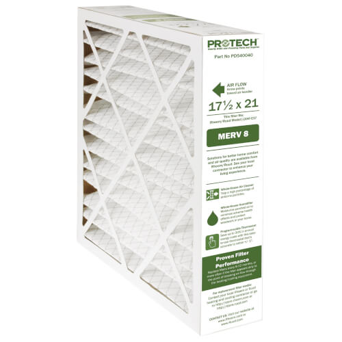 Rheem PD540040 - MERV 8 Replacement Filter for [-]XHF-E17