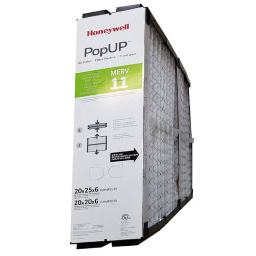 "Honeywell POPUP2025 - 20"" x 25"" x 6"" Replacement Media Air Filter Image"