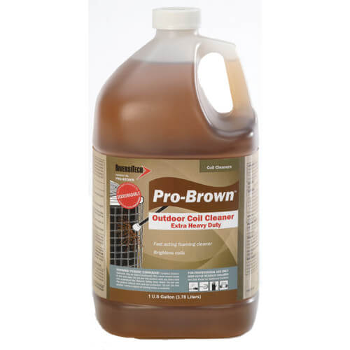 DiversiTech PRO-BROWN - Pro-Brown Extra Heavy Duty Coil Cleaner (1 Gallon) Image