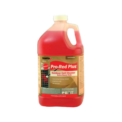 DiversiTech PRO-RED-PLUS - Outdoor Non-Acid Coil Cleaner and Brightener (1 Gallon) Image