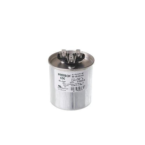 Rheem 43-25133-05 - Capacitor - 45/3/370 Dual Round (PROTECH) Image