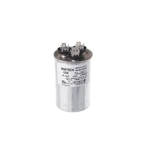 Rheem 43-25133-06 - Capacitor - 45/5/370 Dual Round (PROTECH) Image