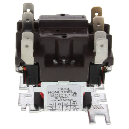 Honeywell R8228D1018 - Heavy Duty Switching Relay Image