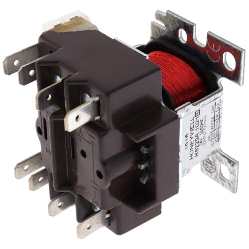 Honeywell R8229A1021 - H1ywell I Electric Heat Relay, Switching