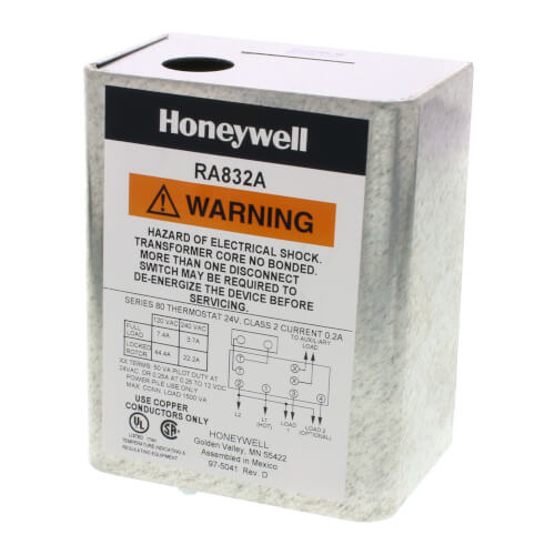 Honeywell RA832A1066 - Hydronic Switching Relay Image