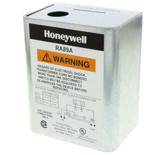 Honeywell RA89A1074 - Hydronic Switching Relay Image