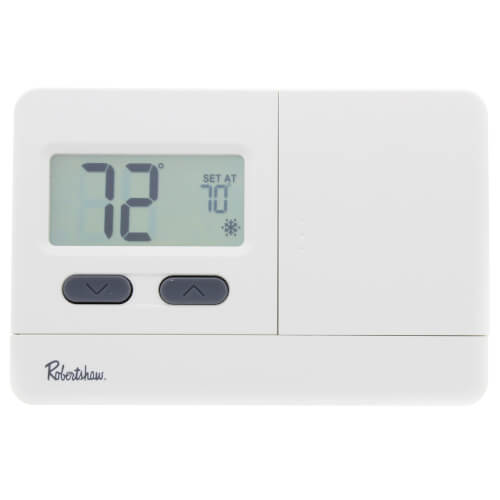 Robertshaw RS2210 - 2 Heat/1 Cool Digital Non-Programmable Thermostat