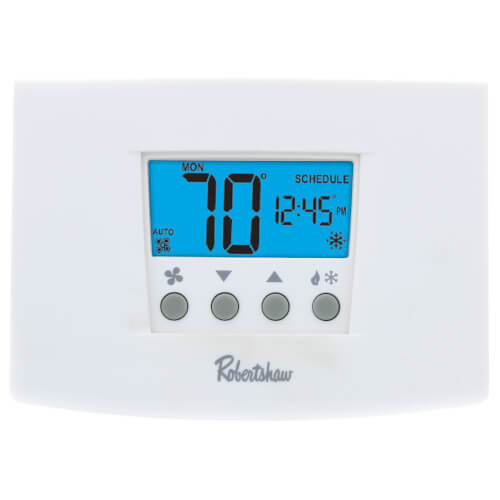 Robertshaw RS5220 - Digital 5-2 Day Programmable Thermostat Heat Pump/Multi Stage (2 Heat/2 Cool) Image
