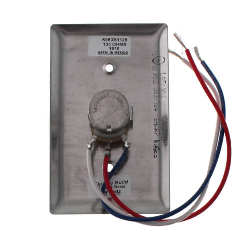 Honeywell S963B1128 - Manual Potentiometer (135 ohm)
