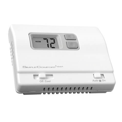 ICM Controls SC1901L - Non-Programmable SimpleComfort Cool Only Thermostat Single Stage